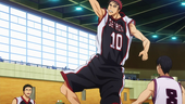 Seirin High vs Kinga High anime