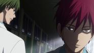 Midorima notices a change in Akashi anime