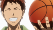Shigehiro smiles