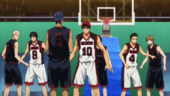 Seirin High vs Too High anime
