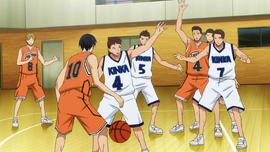 Shutoku High vs Kinka High anime