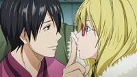 Alex tries to kiss Himuro
