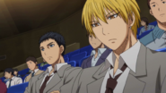 Kise and Kasamatsu in the audience