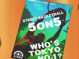 Basket de rue Basketball 5 VS 5