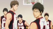 Seirin High in last years Semi-Final Preliminaries