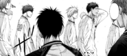 Teiko walks past Seirin