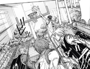 Aomine makes the first score