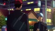 Kuroko parle à Kagami