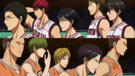 Seirin vs Shutoku Winter cup