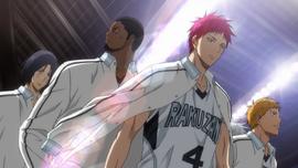 Rakuzan team anime