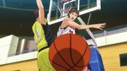 Kiyoshi blocking Narumi