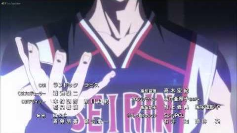 Kuroko no Basket Season 2 Ending 2
