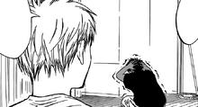 Aomine scared by Kuroko