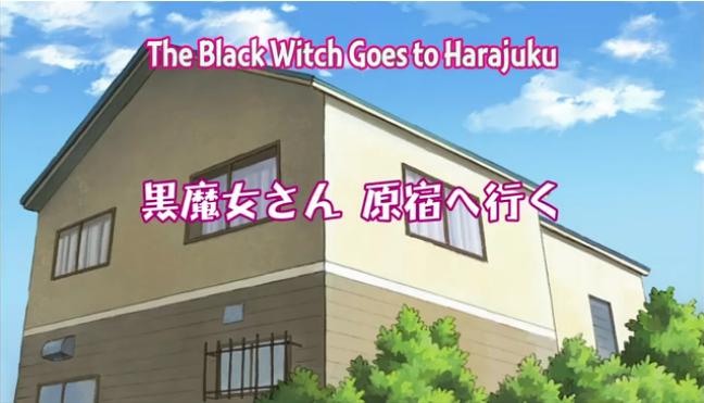 Kuromajo episode 6 opening