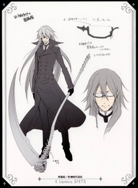 Undertaker Shinigami Concept Art