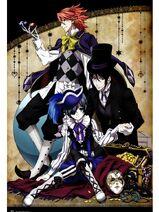 Ciel, Sebastian & Joker 1