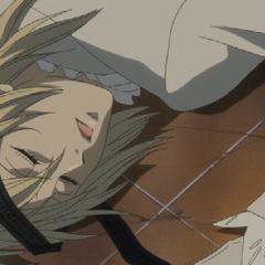 An unconscious Aleistor.