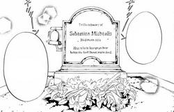 Sebastian's grave