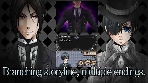 Black Butler Phantom & Ghost DS Game Trailer (Subbed)