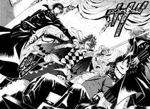 Sebastian, Joker, Kelvin & Ciel (manga)