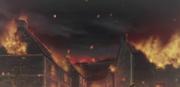 Village on Fire