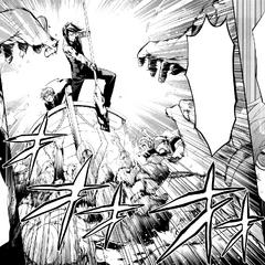 Ciel orders Sebastian to obliterate the remaining Bizarre Dolls.