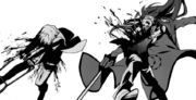 Grell and Ronald injured