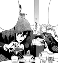 Ch69 Gregory concocting a drink