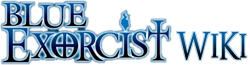 Blue Exorcist Wordmark