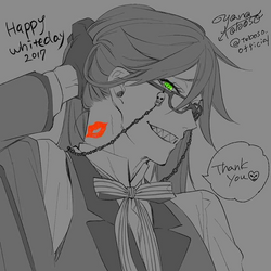 Grell White Day
