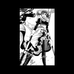 Mey-Rin defendiendo la Mansión Phantomhive.