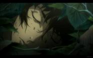 Kuro Sleeps on the Ground