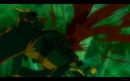 Man in Red Armor Dies