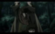 Benkei Prepares to Cut Down Kuro