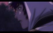 Kuro before Kneeling in Pain