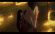 Kuromitsu Killing by Throat