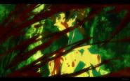 Kuro Kills Man in Red Armor
