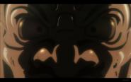 Gold Mask Close Up