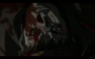 Benkei Covered in Kuro's Blood