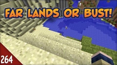 Minecraft Far Lands or Bust - 264 - Skeleton Beach Holiday