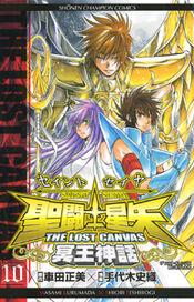 Saint Seiya Lost Canvas Vol 10