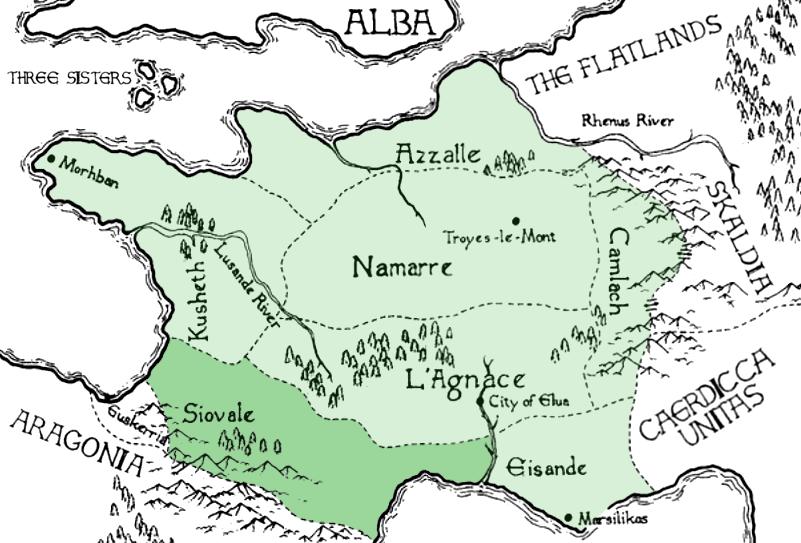 Siovale | Kushiel's Legacy Wiki | Fandom on terre d'ange map, malazan world map, randland map, camorr map, tamil map,