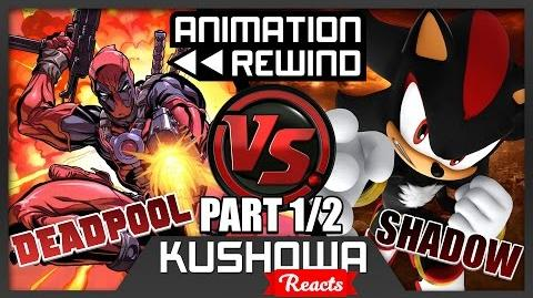 Kushowa Reacts to DEADPOOL vs SHADOW! Cartoon Fight Club Episode 66