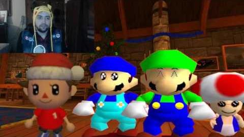 Kushowa Reacts to SM64 Christmas 2015 - Christmas Crazies