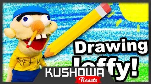 Kushowa Reacts to SML Movie: Drawing Jeffy!