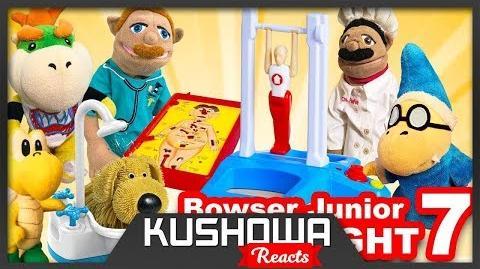 Kushowa Reacts to SML Movie: Bowser Junior's Game Night 7