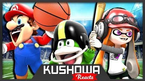 Kushowa Reacts to SMG4: Stupid Mario Sports Mix