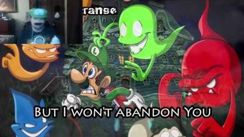 """Kushowa Reacts to """"Something Strange"""" - Luigi's Mansion song by MandoPony"""