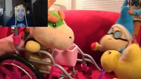 Kushowa Reacts to SML Movie: Bowser Junior's Flu Shot!
