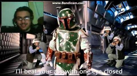 DEMON REACT Deadpool vs Boba Fett. Epic Rap Battles of History - Bonus Battle!